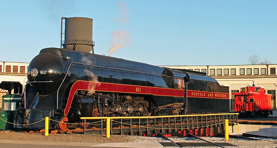 Norfolk & Western Class J No. 611 Rides