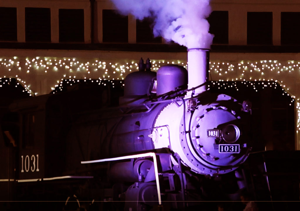N.C. Transportation Museum In Lights: A Drive Thru Experience