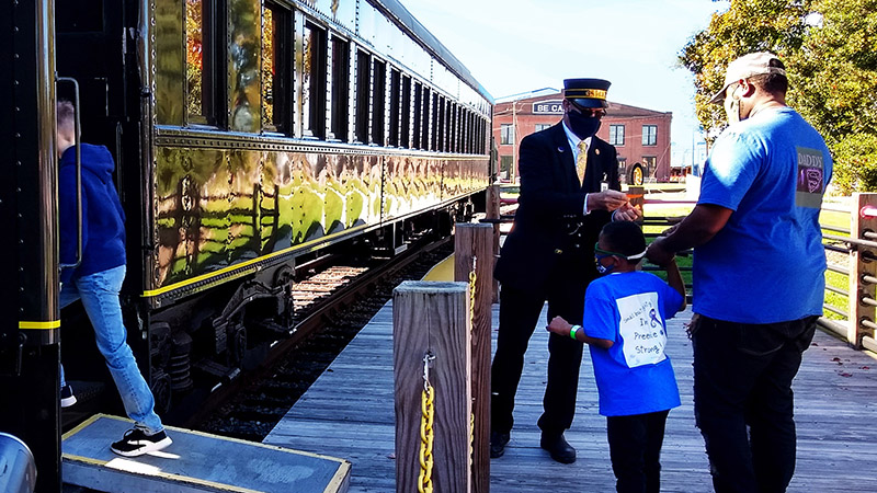 Weekend Train Rides @ Barber Junction Visitors Center at N.C. Transportation Museum